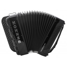 Hohner Fun Nova II 80 Iight (A7002) black celluloid кнопочный аккордеон